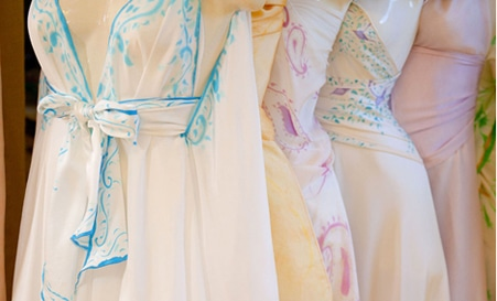 Sky Designs Clothing | Frequently Asked Questions Custom Silk Beach Wedding Dresses And