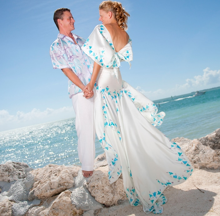 ISLAND BRIDE Archives - Custom Silk Beach Wedding Dresses and ...