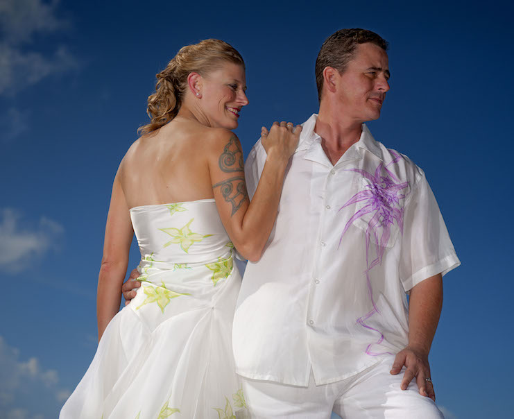 What To Wear To A Formal Beach Wedding - Custom Silk Beach Wedding ...