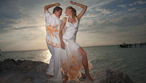 What to wear to a formal beach wedding custom silk beach for Beach wedding dress code
