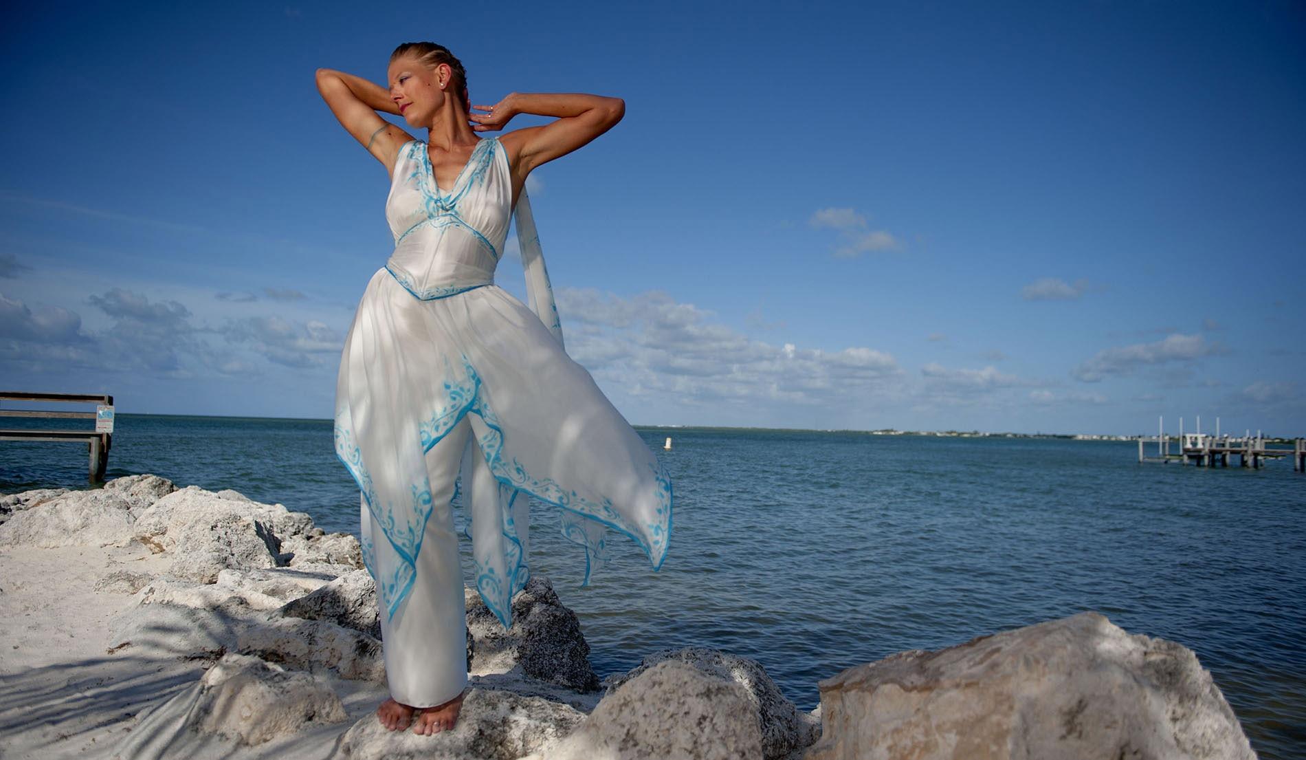 Elegant Beach Wedding Dress - Look Book for Ariana