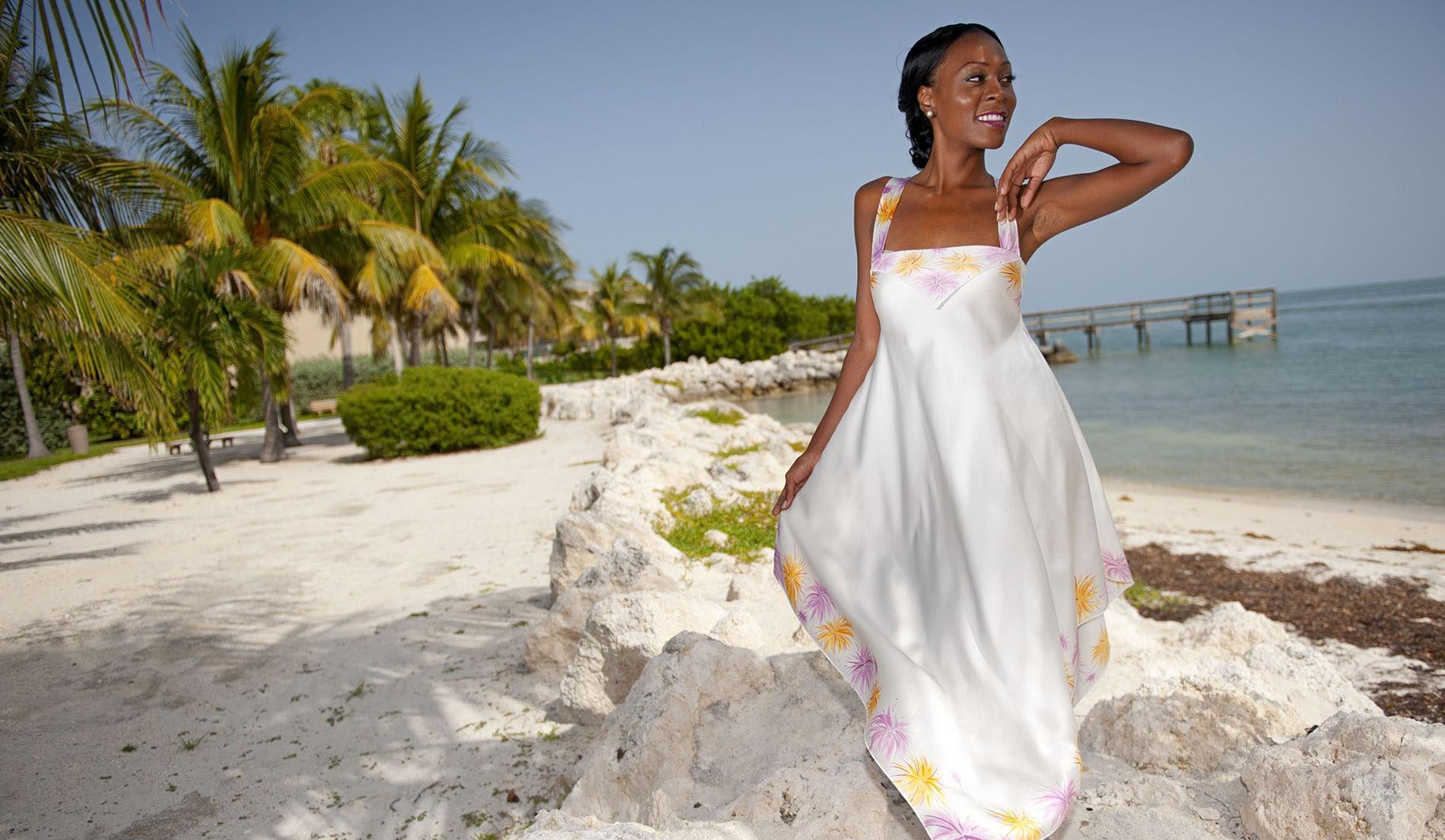 Second Wedding Dresses Beach