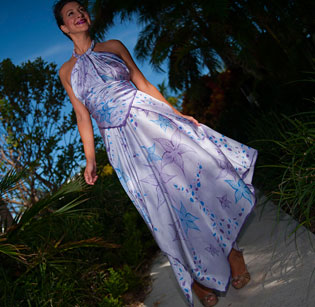 Tropical Destination Mother of the Bride Skirt - Seychelles