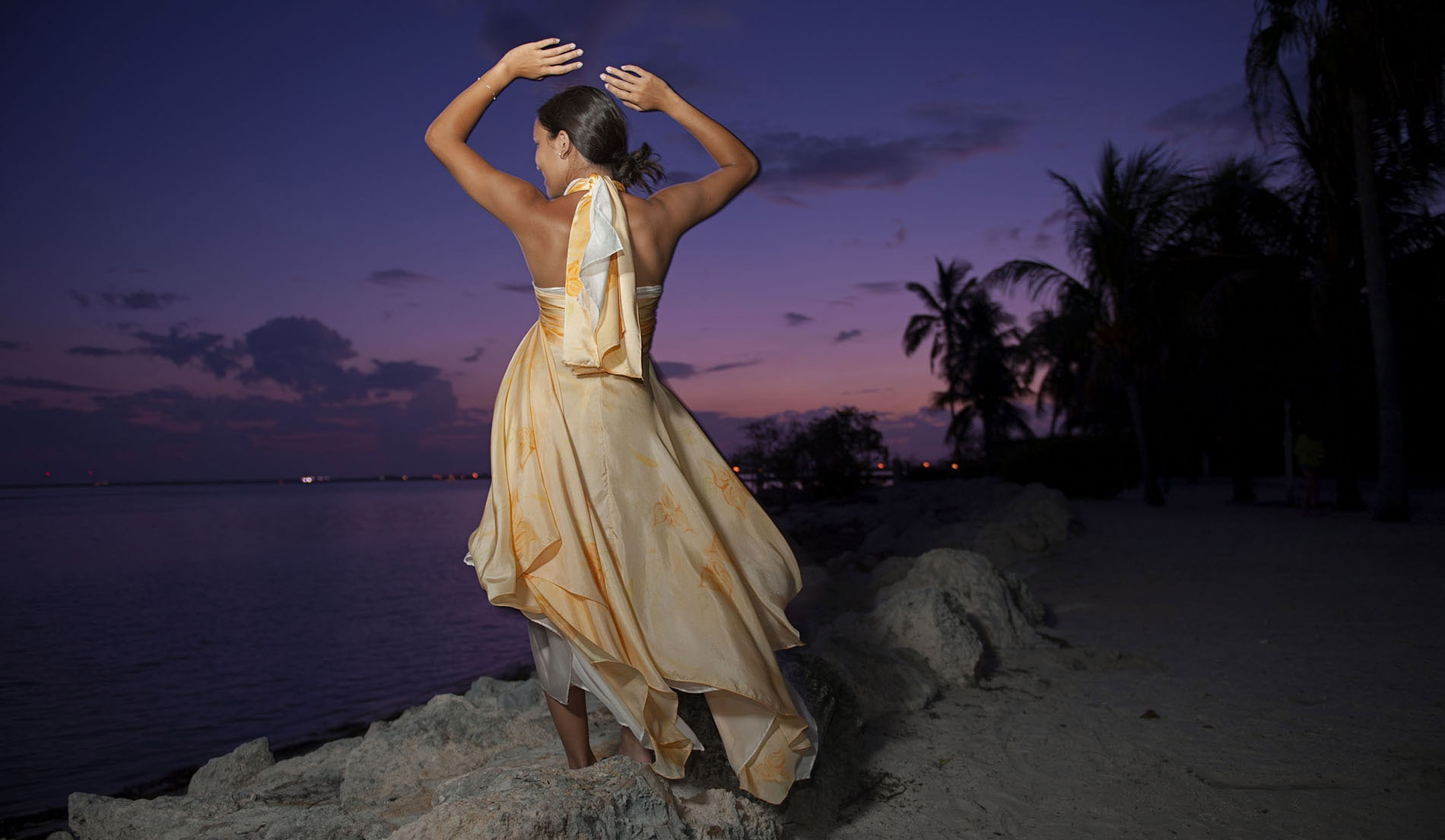 Most Popular Beach Inspired Wedding Dresses - Look 2 Front