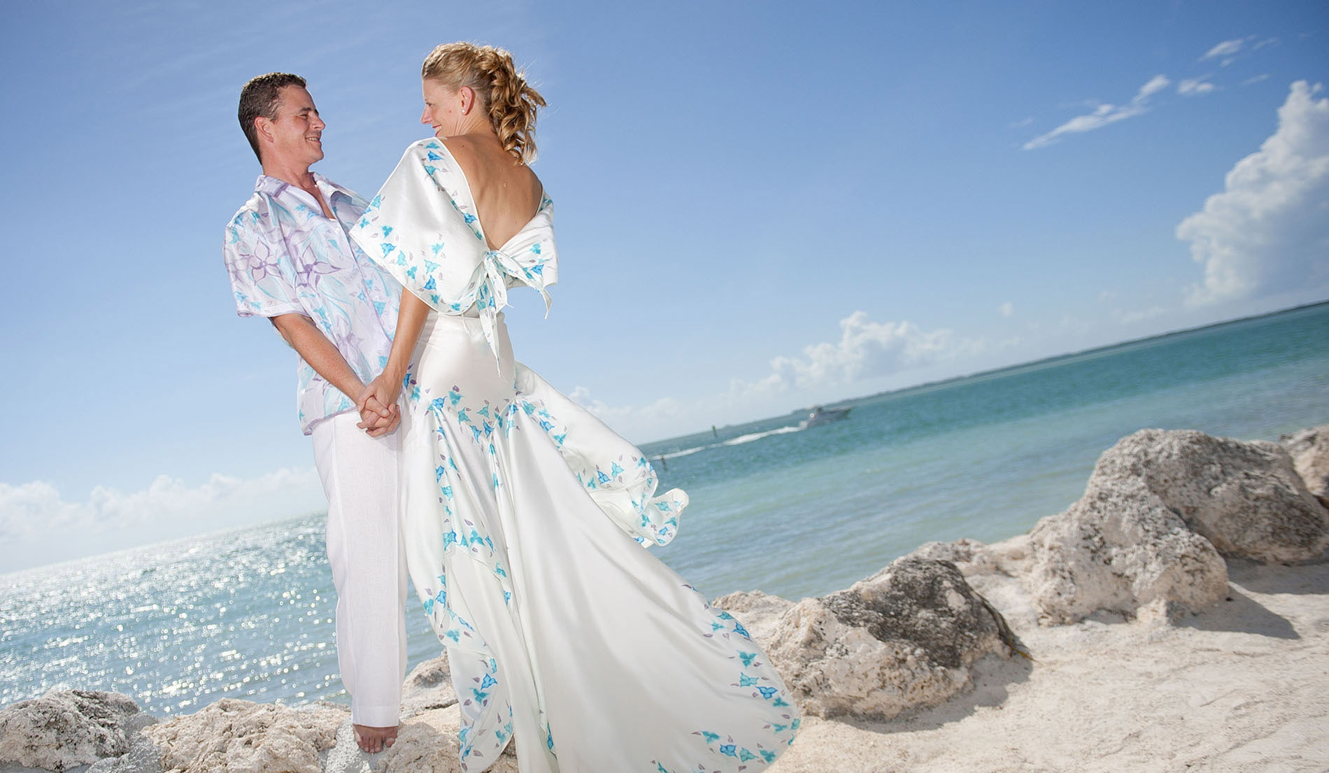 Destination Wedding Attire for Groom and Groomsmen