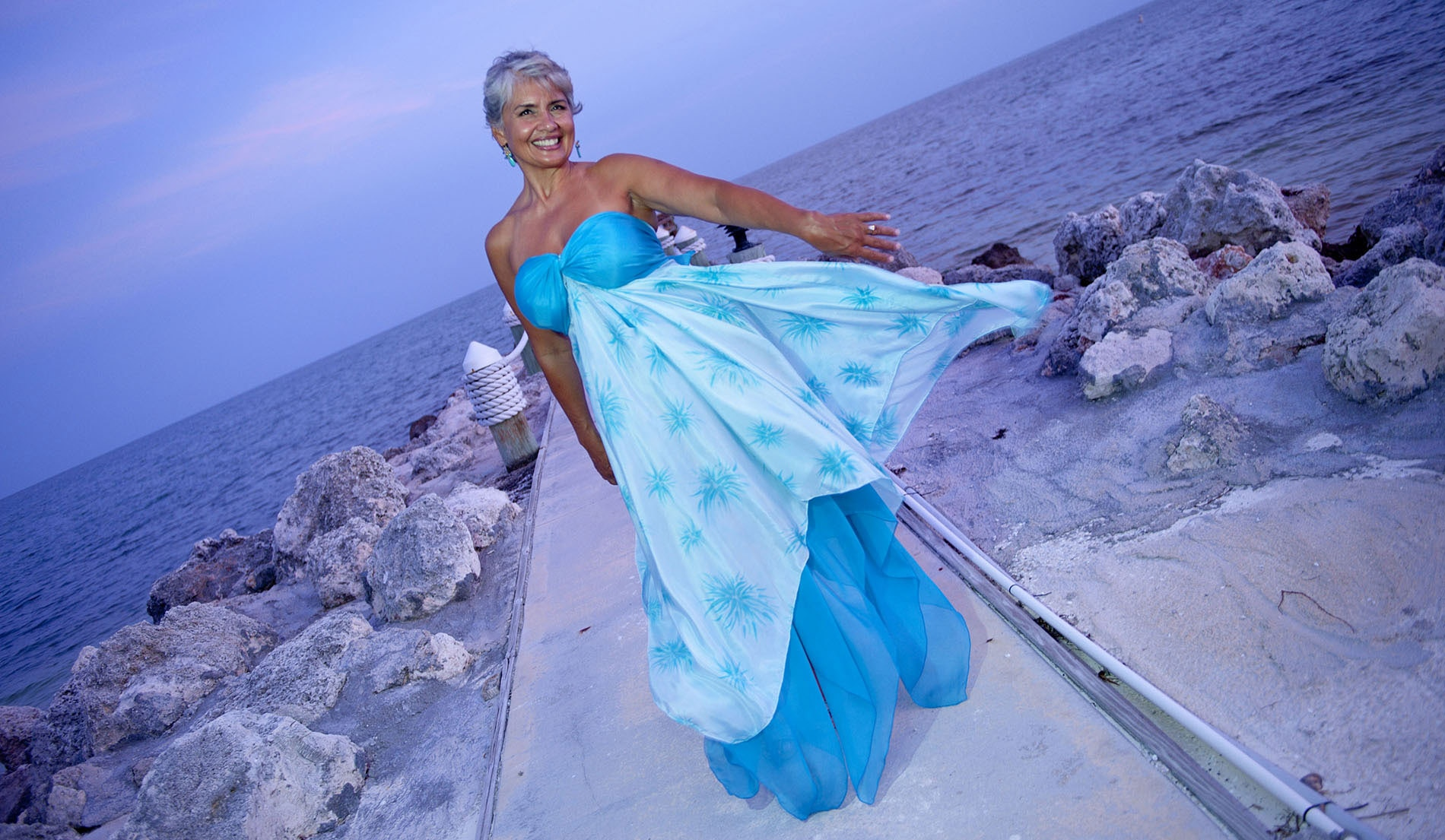 non traditional wedding dresses with color fiji