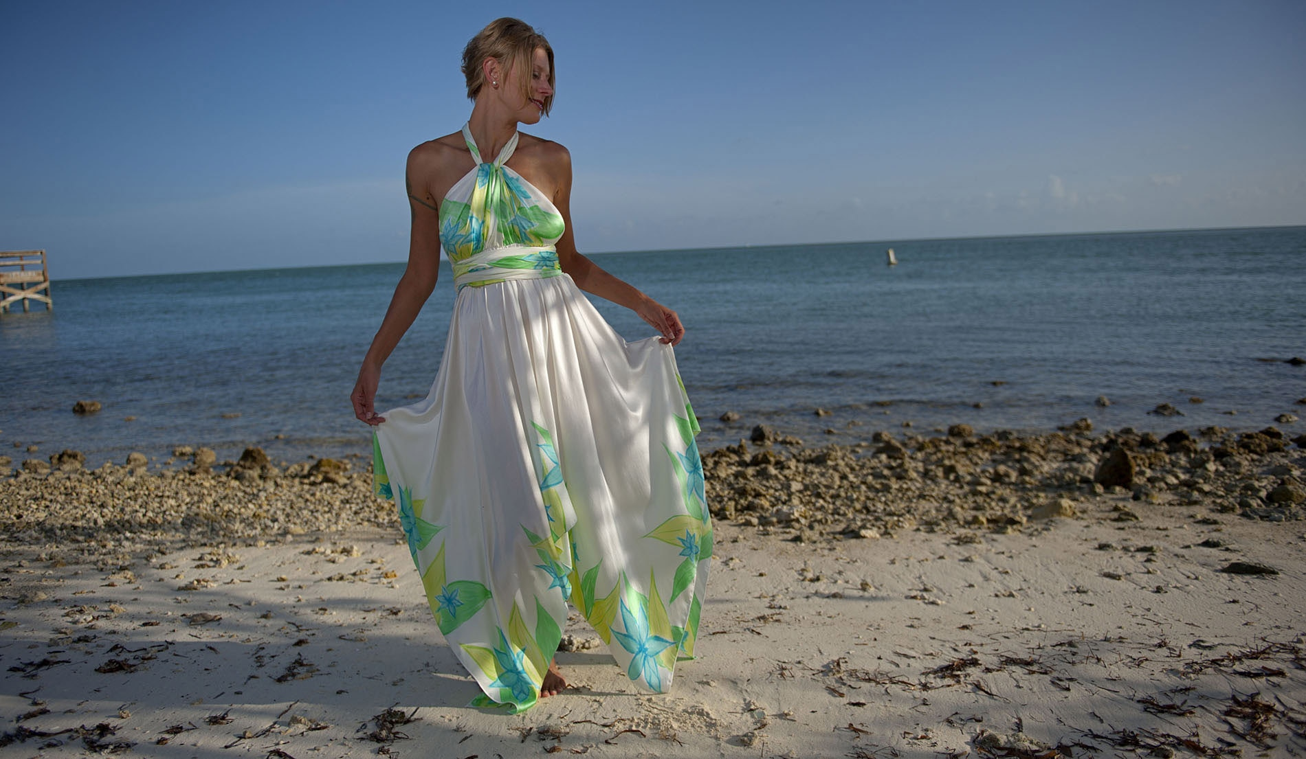 Unique Beach Wedding Dresses
