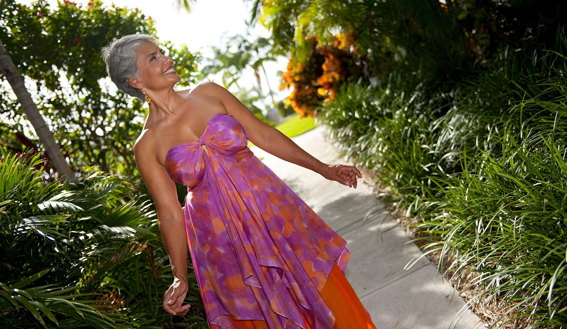 tropical Wedding dresses for beach weddings - Look Book for Dominica - Look 3 front