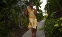 Swrrtheart Halter Handkerchief Hemline Bridesmaid Destination Skirt Ensemble - Puerto Rico - Look 3 front