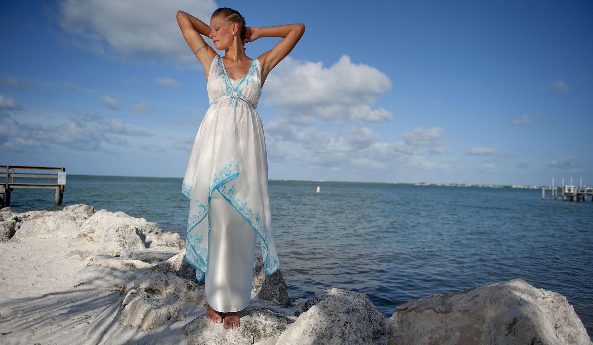 Jasmine inspired dress
