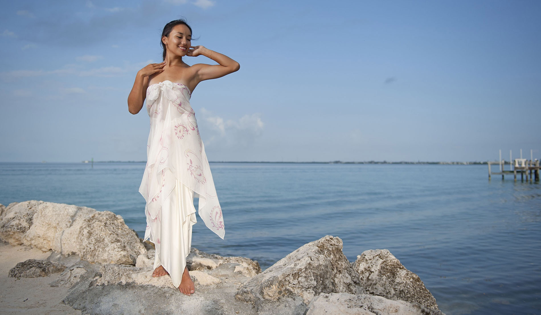Modern Beach Wedding Dresses Look Book For Dawn