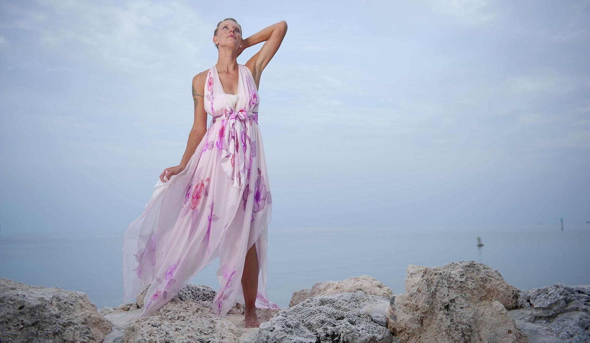 Island wedding dress look book for marquesa for Island wedding dresses
