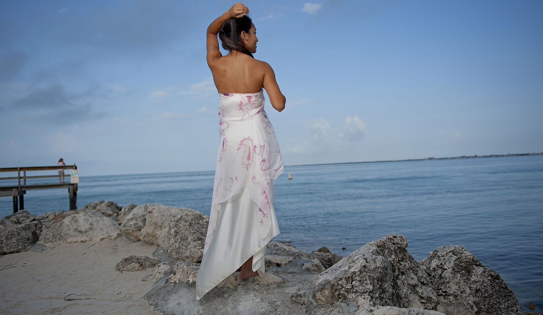 Tropical Wedding Dress - Look Book for Dawn