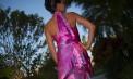 Lift Separate Halter Mermaid Style Beach Wedding Dresses - Martinique - Look 4 back