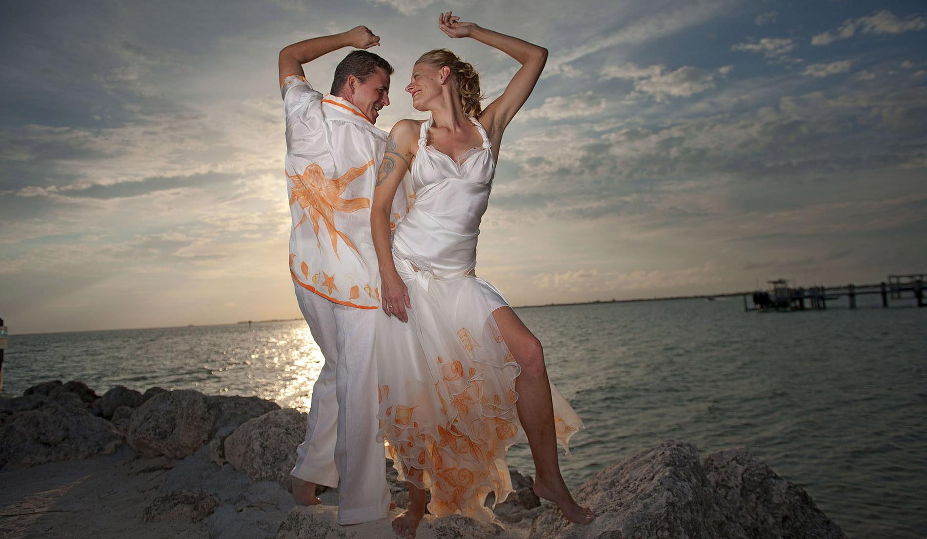 Destination Wedding Attire for Groom and Groomsmen
