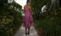 Strapless Bandeau Wedding dresses for beach weddings - Look Book for Dominica - Look 5 back
