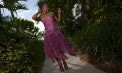 Dropped waist Wedding dresses for beach weddings - Look Book for Dominica - Look 6 front