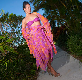 Divine Island Mother of the Bride Skirt Ensemble - Dominica
