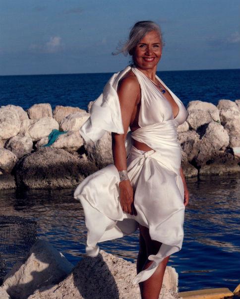 Lorraine Osgood Silk Artwear White