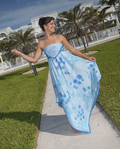 Silk Dress For Beach Rehearsal Dinner