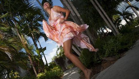 luxury resort wear