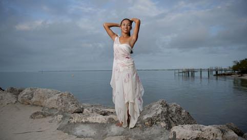 silk beach bridesmaids dresss