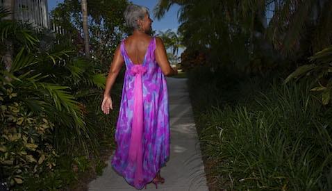 silk beach mother of the bride dress
