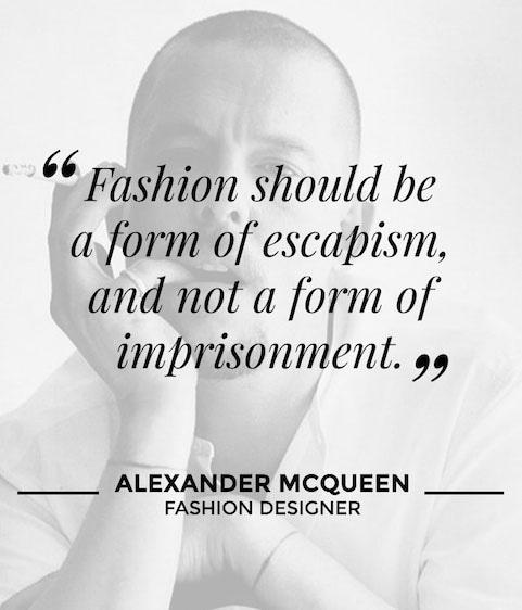 Alexander McQueen, Fashion Designer