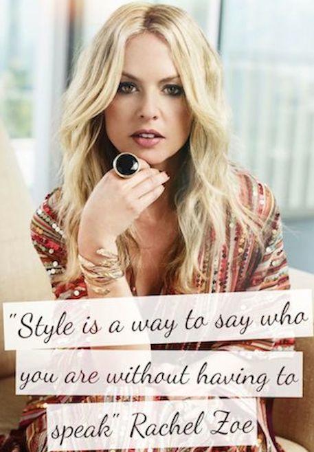 Rachel Zoe, Fashion Designer