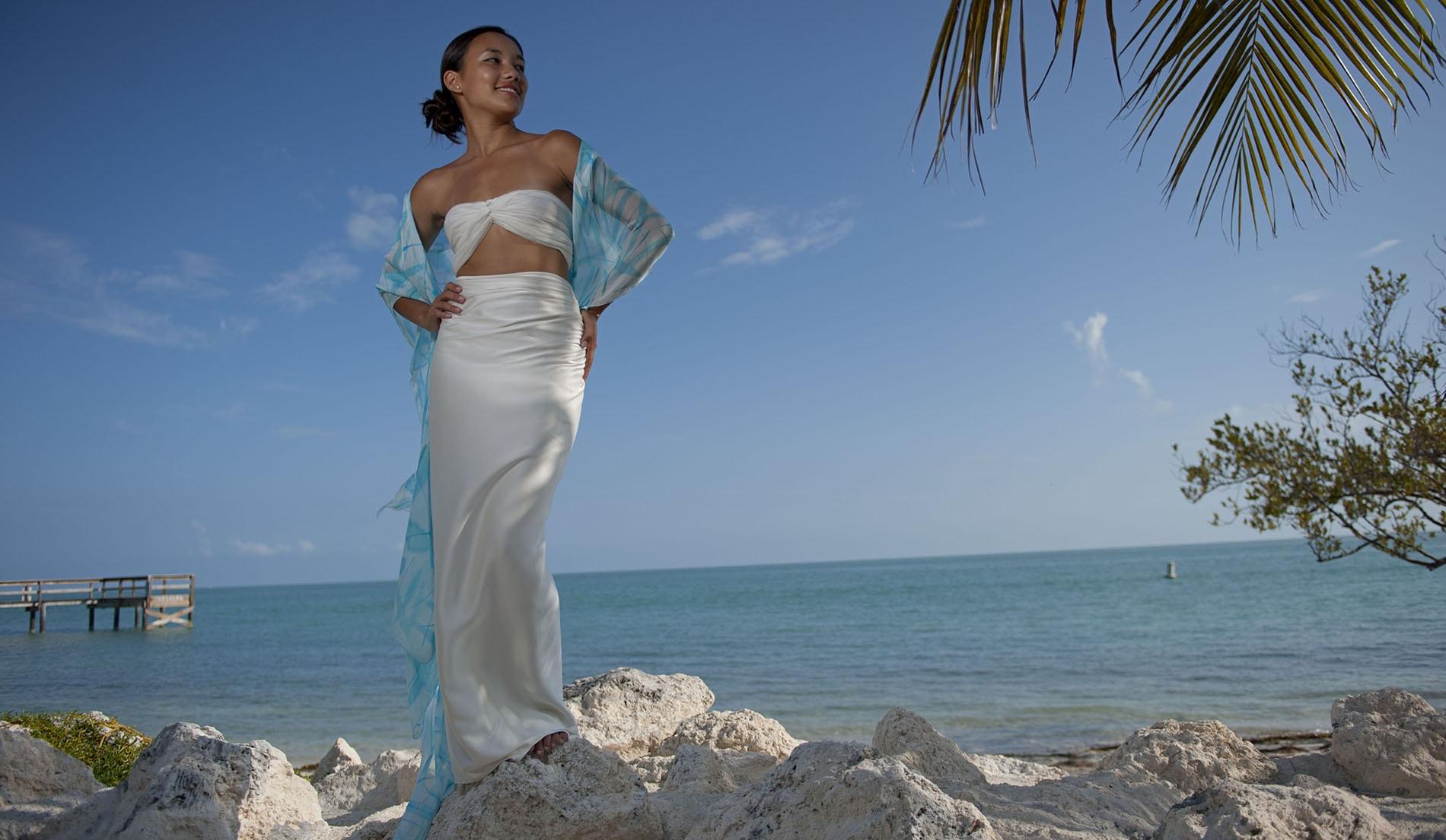 LOOK BOOK FOR THE BUTTERFLY SHRUG - Custom Silk Beach Wedding ...