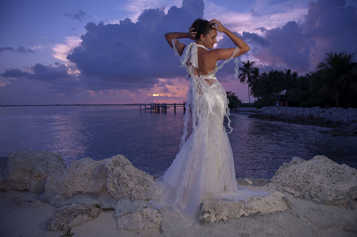 66a402bf4c Beach Wedding Dress Ideas to become an Iconic Island Goddess: Eva – 'The  Temptress'