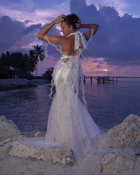 Beach Wedding Dress Ideas: 'The Temptress'