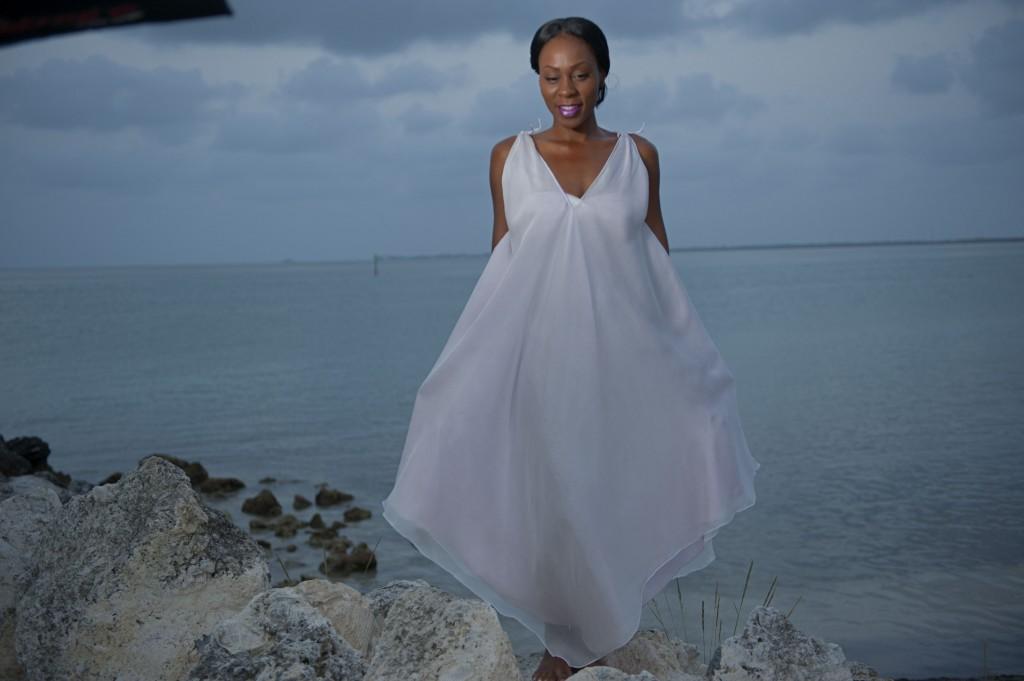 bridal resort wedding wearing