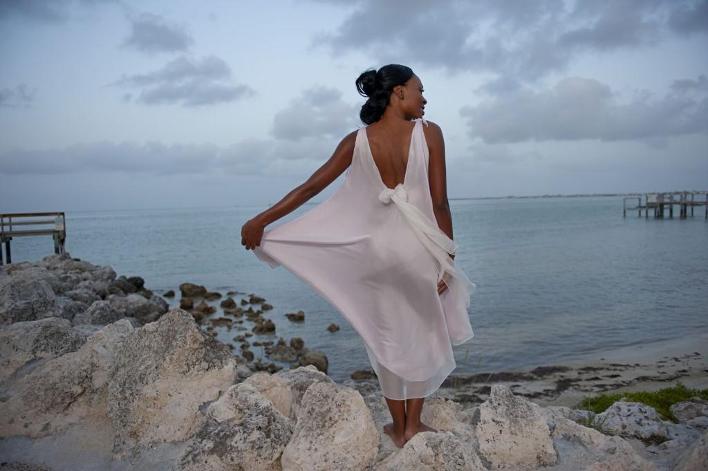 custom island bridalwear